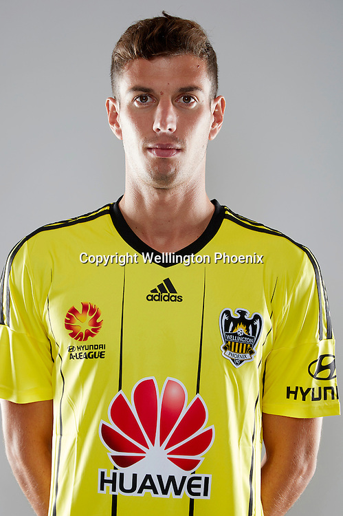 Marco Rossi.<br /> Headshots of the Wellington Phoenix Football team for the Hyundai A-League 2016-17 season.