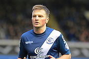 Stephen Gleeson during the Sky Bet Championship match between Birmingham City and Milton Keynes Dons at St Andrews, Birmingham, England on 28 December 2015. Photo by Alan Franklin.