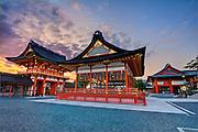 Fushimi Inari, Fushimi, Kyoto, Japan.