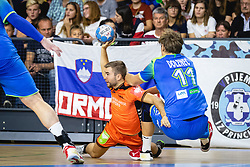 25-10-2019 SLO: Slovenia - Netherlands, Ormoz<br /> Luc Stein of Nederland during friendly handball match between Slovenia and Nederland, on October 25, 2019 in Sportna dvorana Hardek, Ormoz, Slovenia.