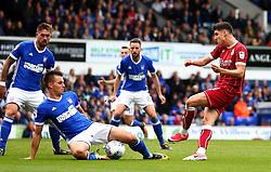 Callum O'Dowda of Bristol City shoots at goal - Mandatory by-line: Robbie Stephenson/JMP - 30/09/2017 - FOOTBALL - Portman Road - Ipswich, England - Ipswich Town v Bristol City - Sky Bet Championship