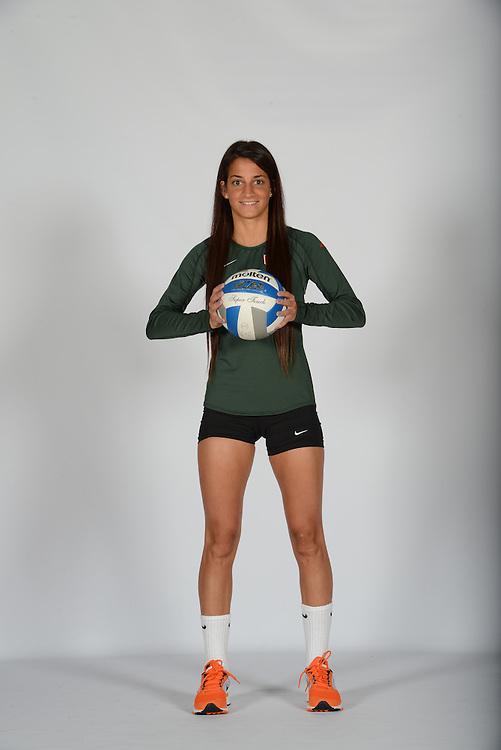 2013 Miami Hurricanes Volleyball Photo Day