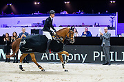 Anthony Philippaerts - All Right du Genet<br /> Jumping Indoor Maastricht 2019<br /> © DigiShots