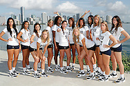 FIU Women's Volleyball Photo Shoot.South Beach 2011.