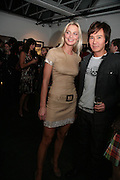 SARAH MARSHALL AND ANDY WONG, Helmut Newton XL. Hamiltons. Carlos Place. London. 25 September 2007. -DO NOT ARCHIVE-© Copyright Photograph by Dafydd Jones. 248 Clapham Rd. London SW9 0PZ. Tel 0207 820 0771. www.dafjones.com.