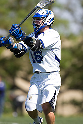 06 May 2007: Duke Blue Devils attackman Max Quinzani (16) during a 19-6 victory over the Air Force Falcons at Koskinen Stadium in Durham, NC.