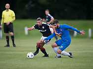 Dundee trialist striker in action against Lochee United at Thomson Park - Lochee United v Dundee 20s, pre-season friendly, at Thomson Park<br /> <br />  - &copy; David Young - www.davidyoungphoto.co.uk - email: davidyoungphoto@gmail.com
