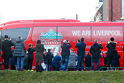 The Liverpool team bus arrives at Anfield - Mandatory by-line: Robbie Stephenson/JMP - 26/12/2018 - FOOTBALL - Anfield - Liverpool, England - Liverpool v Newcastle United - Premier League