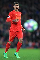 5th April 2017 - Premier League - Liverpool v Bournemouth - Roberto Firmino of Liverpool - Photo: Simon Stacpoole / Offside.