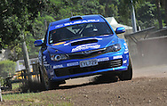 Emma GILMOUR & Rhianon SMYTH  .Subaru Impreza WRX STI.Media Day/Shakedown.Red Devil Energy Drink Rally of Queensland.Nambour Showgrounds, Nambour, Sunshine Coast, Qld.8th of May 2009.(C) Joel Strickland Photographics.Use information: This image is intended for Editorial use only (e.g. news or commentary, print or electronic). Any commercial or promotional use requires additional clearance.