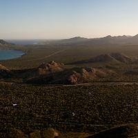 Paisaje en Cabo Pulmo, Baja California Sur