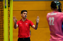 LEIZPIG - WC HOCKEY INDOOR 2015<br /> AUS v SWE (Pool A)<br /> Foto:Umpire<br /> FFU PRESS AGENCY COPYRIGHT FRANK UIJLENBROEK