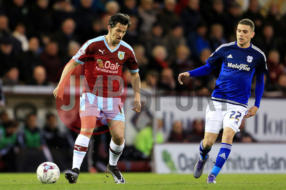 Burnley's Joey Barton in action - Mandatory by-line: Matt McNulty/JMP - 05/04/2016 - FOOTBALL - Turf Moor - Burnley, England - Burnley v Cardiff City - SkyBet Championship