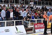 tifosi Dolomiti Energia Aquila Basket Trento<br /> Dolomiti Energia Aquila Basket Trento - Umana Reyer Venezia<br /> Legabasket Serie A 2018/2019<br /> Trento, 27/10/2018<br /> Foto M.Ceretti / Ciamillo-Castoria