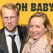 NLD/Amsterdam/20171030 - Oh Baby filmpremiere, Leo Alkemade en zus