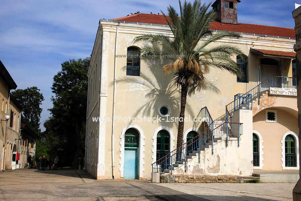 Israel, Mikveh Israel, the first Jewish agricultural school in Palestine. Established 1870.
