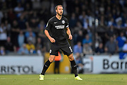 Glenn Murray (17) of Brighton and Hove Albion during the EFL Cup match between Bristol Rovers and Brighton and Hove Albion at the Memorial Stadium, Bristol, England on 27 August 2019.