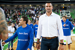 Dalibor Bagarić during basketball event Kosarkaska simfonija - last offical basketball match of Bostjan Nachbar and Sani Becirovic, on August 30, 2018 in Arena Stozice, Ljubljana, Slovenia. Photo by Urban Urbanc / Sportida