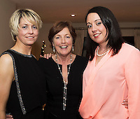 07/12/2014 Karen and Helena Huban with Mum Rita at The Pier Head, Kinvara for Oiche Nollaig na mban (night out for the chicks!) started out as a fun Christmas night for the ladies. Organised by Mary Moloney, Ruth sexton, Valerie Forkan, Sarah Linnane & Jackie Veale, the women quickly decided to make it a fundraiser. Being a women's night the obvious charity of choice was breast cancer awareness, the NBCRI was the chosen beneficiary.  120 participated in the chain link, all sporting a variety of pink bras! Some Christmas carols at the village tree while hanging the bras on the tree was another highlight! PHOTO:Andrew Downes
