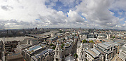 View over London from the top of St. Pauls Cathedral