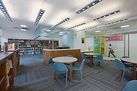 Interior image of Anne Beers Elementary School in Washington DC by Jeffrey Sauers of Commercial Photographics