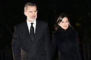 030420 Spanish Royals attends Placido Arango's Mass Funeral