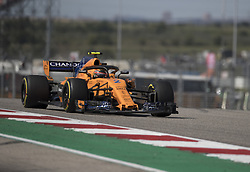 October 21, 2018 - Austin, USA - McLaren driver Stoffel Vandoorne (2) of Belgium heads into Turn 7 during the Formula 1 U.S. Grand Prix at the Circuit of the Americas in Austin, Texas on Sunday, Oct. 21, 2018. (Credit Image: © Scott Coleman/ZUMA Wire)