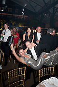 TIM GOODALE; NATALYA SAVELYEVA DANCING, Evgeny Lebedev and Graydon Carter hosted the Raisa Gorbachev charity Foundation Gala, Stud House, Hampton Court, London. 22 September 2011. <br /> <br />  , -DO NOT ARCHIVE-© Copyright Photograph by Dafydd Jones. 248 Clapham Rd. London SW9 0PZ. Tel 0207 820 0771. www.dafjones.com.