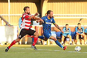 Sean Rigg during the match between Kingstonian and AFC Wimbledon at the Cherry Red Records Stadium, Kingston, England on 30 July 2015. Photo by Stuart Butcher.