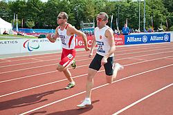 WOZNIAK Daniel, KUCUK Mustafa, 2014 IPC European Athletics Championships, Swansea, Wales, United Kingdom