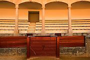 SPAIN: Andalucia.<br /> Ronda's famous bull ring.