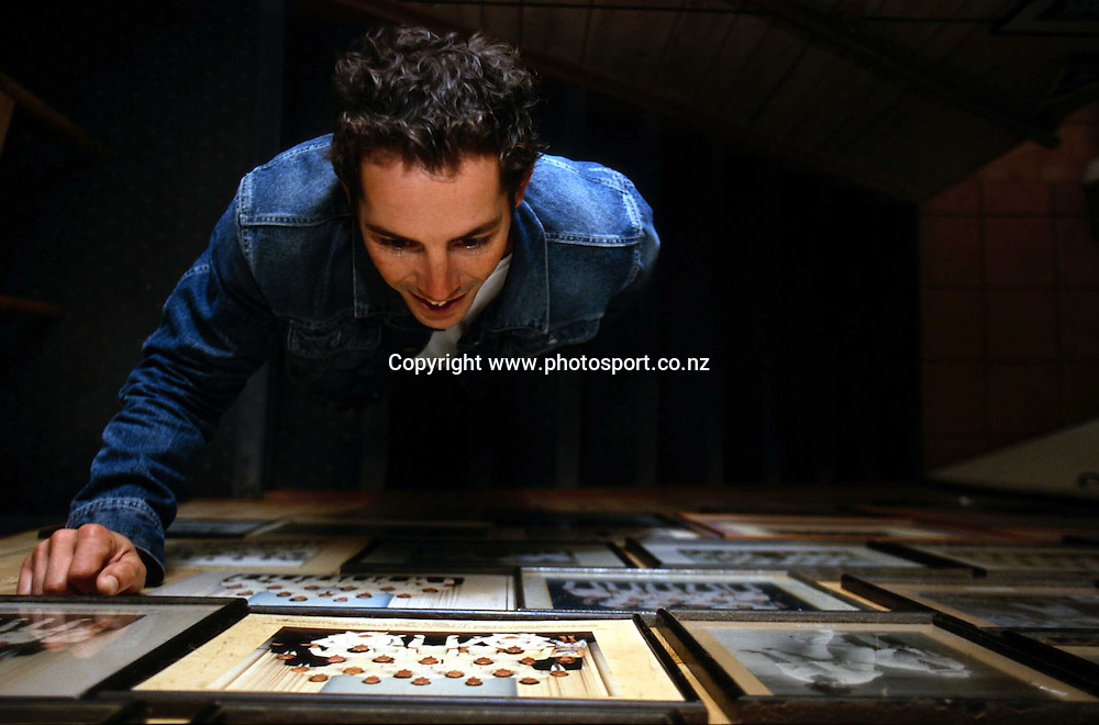 Photoshoot with New Zealand mens cricket player Adam Parore, 8 April 2002, Auckland. Photo: Andrew Cornaga/PHOTOSPORT