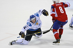 12.05.2011, Orange Arena, Bratislava, SVK, IIHF 2011 World Championship, Finnland vs Norway, im Bild LAJUNEN JANI. EXPA Pictures © 2011, PhotoCredit: EXPA/ EXPA/ Newspix/ .Tadeusz Bacal +++++ ATTENTION - FOR AUSTRIA/(AUT), SLOVENIA/(SLO), SERBIA/(SRB), CROATIA/(CRO), SWISS/(SUI) and SWEDEN/(SWE) CLIENT ONLY +++++