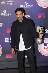 Gun.<br /> Red carpet at the MTV EMA, Glasgow.