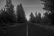 Forest Road in the Deschutes National Forest, Oregon. © Michael Durham.