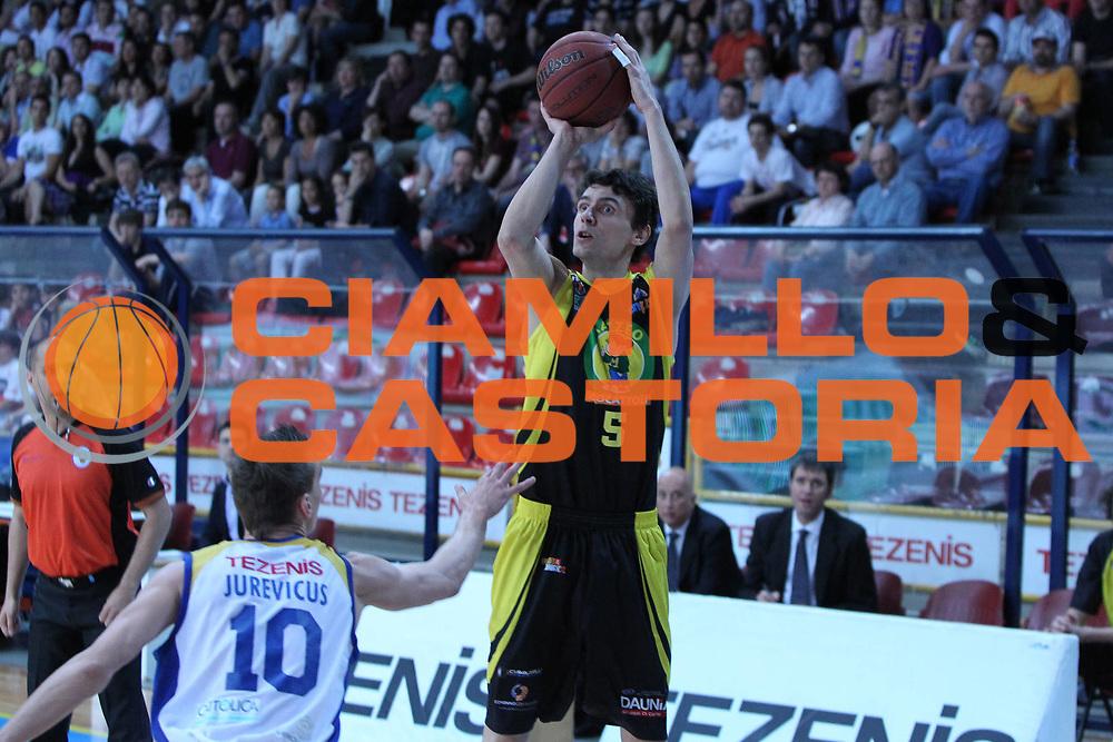 DESCRIZIONE : Verona Lega Basket A2 2010-11 Tezenis Verona Mazzeo San Severo<br /> GIOCATORE : Riste Stefanov<br /> SQUADRA : Tezenis Verona Mazzeo San Severo <br /> EVENTO : Campionato Lega A2 2010-2011<br /> GARA : Tezenis Verona Mazzeo San Severo <br /> DATA : 09/04/2011<br /> CATEGORIA : Tiro<br /> SPORT : Pallacanestro <br /> AUTORE : Agenzia Ciamillo-Castoria/G.Contessa<br /> Galleria : Lega Basket A2 2009-2010 <br /> Fotonotizia : Verona Lega A2 2010-11 Tezenis Verona Mazzeo San Severo<br /> Predefinita :