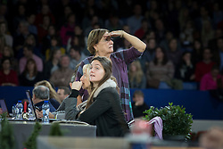 Withages Mariette (BEL)<br /> World Dressage Masters Freestyle<br /> Flanders Christmas Jumping - Mechelen 2012<br /> © Dirk Caremans