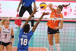28-09-2017 AZE: CEV European Championship Italie - Nederland, Baku<br /> Nederland wint met 3-0 van Italie en staat in de halve finale / Anne Buijs #11 of Netherlands