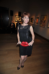 KATHY LETTE at fundraising dinner and auction in aid of Liver Good Life a charity for people with Hepatitis held at Christies, King Street, London on 16th September 2009.