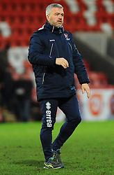 Cheltenham Town assistant manager Russell Milton- Mandatory by-line: Nizaam Jones/JMP- 27/01/2018 - FOOTBALL - LCI Rail Stadium- Cheltenham,England - Cheltenham Town v Barnet -Sky Bet League Two
