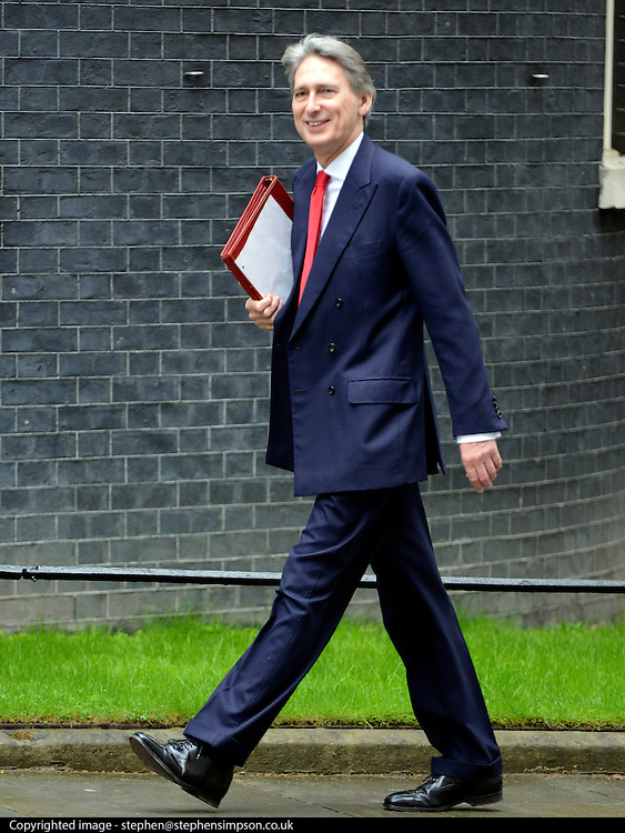 © Licensed to London News Pictures. 01/05/2012. London, UK . Defence Secretary Philip Hammond. Cabinet ministers in Downing Street for the Cabinet Meeting on 1st May 2012. Photo credit : Stephen Simpson/LNP