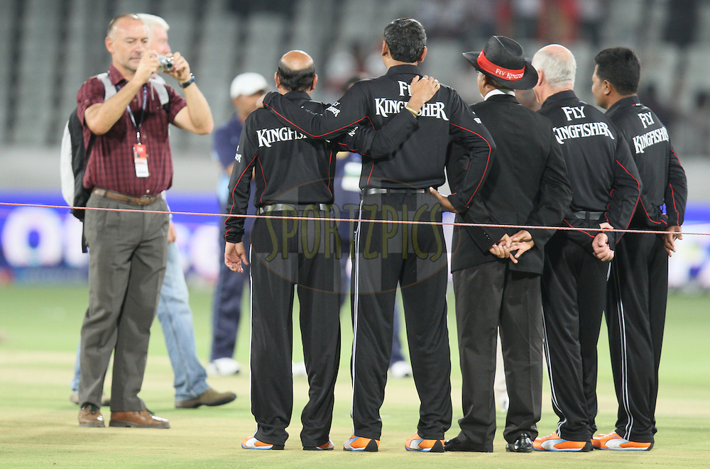 during match 11 of the Indian Premier League ( IPL ) between the Deccan Chargers and the Royal Challengers Bangalore held at the Rajiv Gandhi International Cricket Stadium in Hyderabad on the 14th April 2011...Photo by Parth Sanyal/BCCI/SPORTZPICS