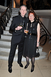 Costa Biography Award Winner MARY TALBOT and BRYAN TALBOT at the Costa Book Awards 2012 held at Quaglino's, 16 Bury Street, London SW1 on 29th January 2013.