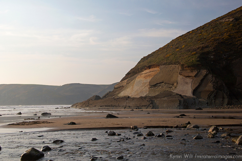 Europe, United Kingdom, Wales. Newgale Beach in Pembrokeshire.