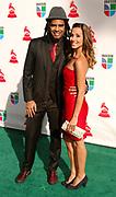 Jair Olivera and Tania Khalil attend the 10th Annual Latin Grammy Awards at the Mandalay Bay Hotel in Las Vegas, Nevada on November 5, 2009.