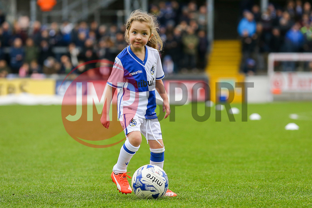 Bristol Rovers mascots - Mandatory by-line: Jason Brown/JMP - 07/01/2017 - FOOTBALL - Memorial Stadium - Bristol, England - Bristol Rovers v Northampton Town - Sky Bet League One