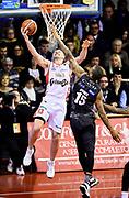 Rimantas Kaukenas<br /> Grissin Bon Pallacanestro Reggio Emilia - Dolomiti Energia Aquila Basket Trento<br /> Lega Basket Serie A 2016/2017<br /> Reggio Emilia, 26/02/2017<br /> Foto A.Giberti / Ciamillo - Castoria