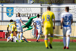 Goalkeeper of NK Celje during football match between NK Domzale and NK Celje in Round #20 of Prva liga Telekom Slovenije 2017/18, on April 18, 2018 in Sports Park Domzale, Domzale, Slovenia. Photo by Urban Urbanc / Sportida