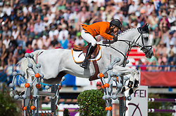 Tim Lips, (NED), Keyflow NOP - Jumping Eventing - Alltech FEI World Equestrian Games™ 2014 - Normandy, France.<br /> © Hippo Foto Team - Jon Stroud<br /> 31-08-14