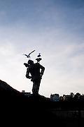 Dinard, Alfred Hitchcock statue